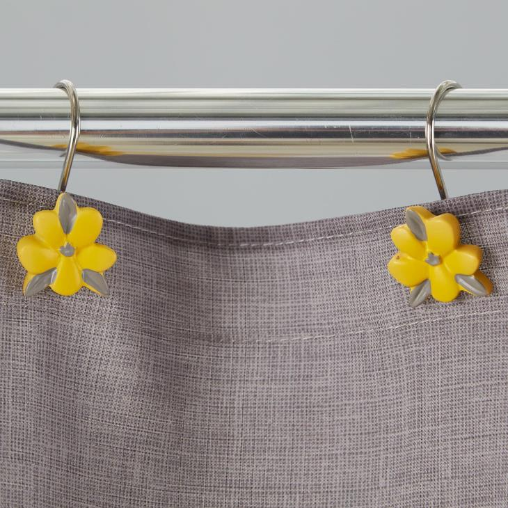 Picture of Spring Garden Shower Curtain Hooks