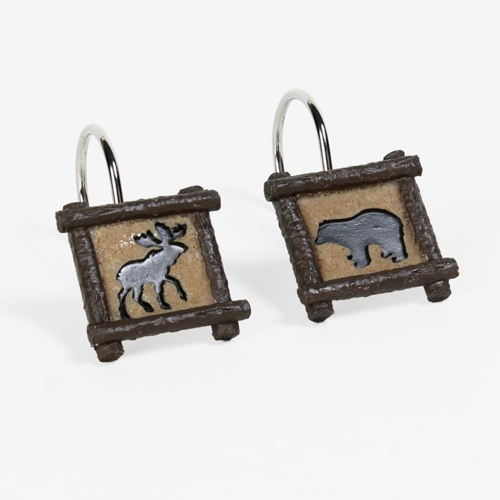 Picture of Sundance Shower Curtain Hooks