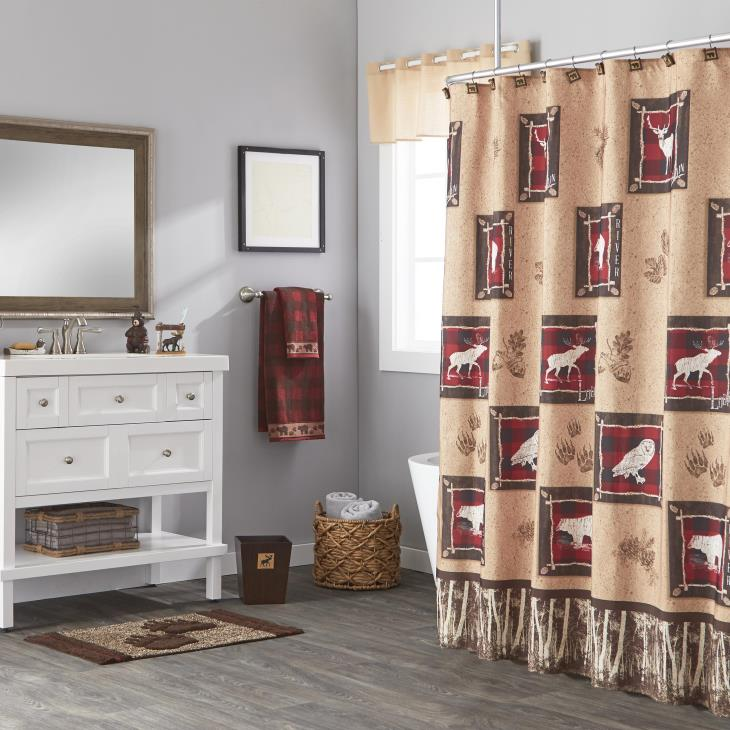 Picture of Sundance Fabric Shower Curtain