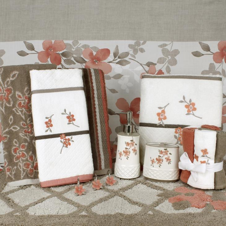 Picture of Coral Garden 6pc Wash Cloth Set