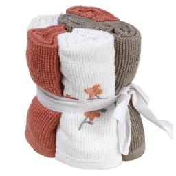 Image of Coral Garden 6pc Wash Cloth Set