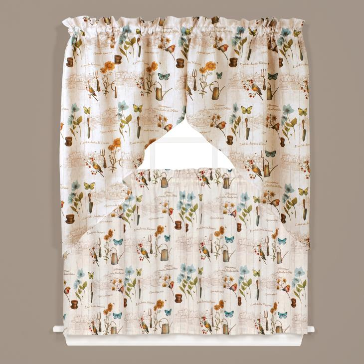 "Picture of Le Jardin 13"" Window Valance"