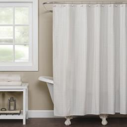 Image of Hopscotch Shower Curtain in Cream