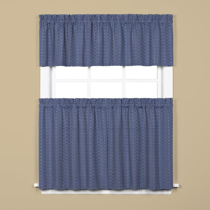 "Picture of Hopscotch 24"" Window Tier Pair in Denim"